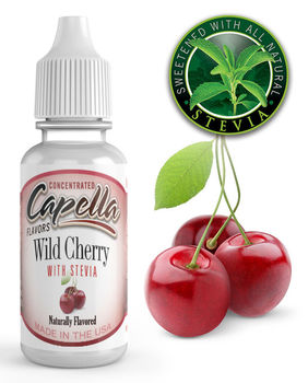 Capella Flavors Wild Cherry with Stevia aromitiiviste 13ml