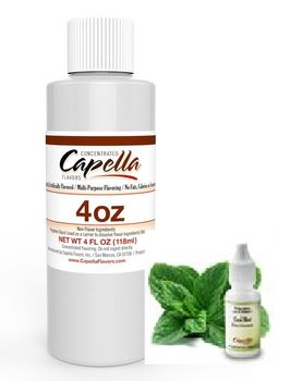 Capella Flavors Cool Mint aromitiiviste ISO PULLO 118ml