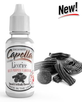 Capella Flavors Licorice Lakritsi EuroSeries aromitiiviste 13ml