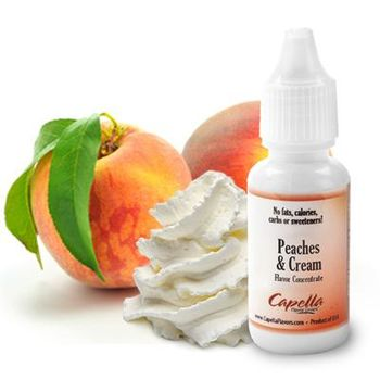 Capella Flavors Peaches & Cream aromitiiviste 13ml