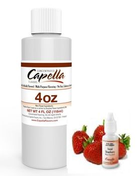 Capella Flavors Sweet Strawberry aromitiiviste ISO PULLO 118ml