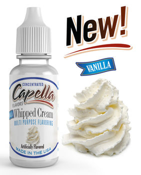 Capella Flavors Vanilla Whipped Cream aromitiiviste 13ml