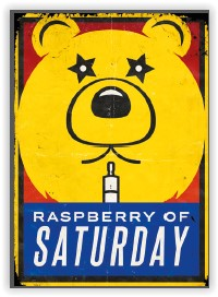 Jalippo's Secret Raspberry of Saturday aromitiiviste 10ml